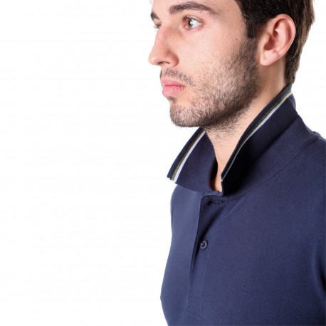 POLO SHIRT WITH POCKET BIG SIZE, S106