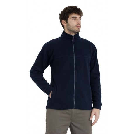 POLAR FLEECE LONG ZIP OVER SIZE, R344
