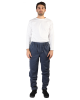 WINTER TWILL COTTON WORKER PANT WITH BRUSHED INSIDE, POCKETS AND ZIP, M819