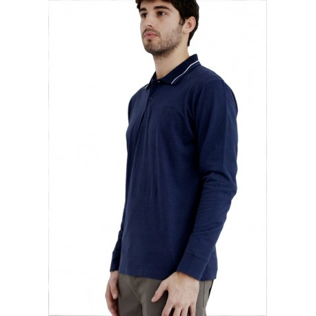 POLO SHIRT LONG SLEEVES WITH EMBROIDERY, CC06